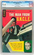 Silver Age (1956-1969):Adventure, Man from U.N.C.L.E. #5 File Copy (Gold Key, 1966) CGC NM 9.4 Off-white to white pages....