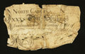 Colonial Notes:North Carolina, North Carolina April 4, 1748 30s Good.. ...