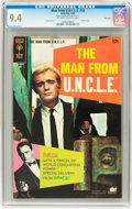 Silver Age (1956-1969):Adventure, Man from U.N.C.L.E. #18 File Copy (Gold Key, 1968) CGC NM 9.4 Off-white to white pages....