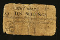 Colonial Notes:North Carolina, North Carolina March 9, 1754 10s Very Good-Fine.. ...