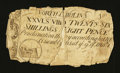 Colonial Notes:North Carolina, North Carolina March 9, 1754 26s/8d Very Good.. ...