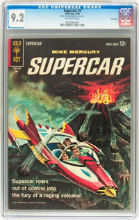 Supercar #3 File Copy (Gold Key, 1963) CGC NM- 9.2 Off-white pages