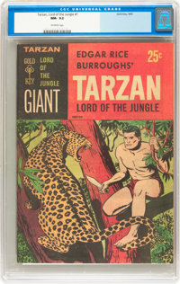 Tarzan Lord of the Jungle #1 (Gold Key, 1965) CGC NM- 9.2 Off-white pages