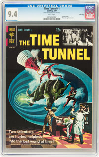 The Time Tunnel #1 File Copy (Gold Key, 1967) CGC NM 9.4 White pages