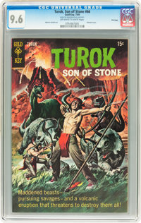 Turok, Son of Stone #66 File Copy (Gold Key, 1969) CGC NM+ 9.6 Off-white to white pages