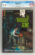 Silver Age (1956-1969):Horror, Twilight Zone #5 File Copy (Gold Key, 1963) CGC NM 9.4 Off-white towhite pages....