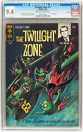 Silver Age (1956-1969):Horror, Twilight Zone #11 File Copy (Gold Key, 1965) CGC NM 9.4 Off-whiteto white pages....