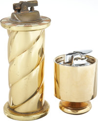 Lucille Ball Gold-Tone Lighters