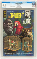 Silver Age (1956-1969):Horror, Twilight Zone #23 File Copy (Gold Key, 1967) CGC NM 9.4 Whitepages....