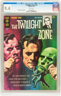 Silver Age (1956-1969):Horror, Twilight Zone #22 File Copy (Gold Key, 1967) CGC NM 9.4 Whitepages....
