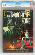 Silver Age (1956-1969):Horror, Twilight Zone #12 File Copy (Gold Key, 1965) CGC NM 9.4 Off-whiteto white pages....