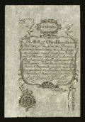 Colonial Notes:New Hampshire, New Hampshire April 1, 1737 Redated August 7, 1740 100s CohenReprint Extremely Fine-About New.. ...