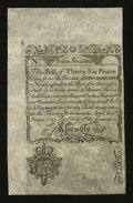 Colonial Notes:New Hampshire, New Hampshire April 1, 1737 3s Cohen Reprint Extremely Fine.. ...