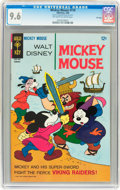 Silver Age (1956-1969):Cartoon Character, Mickey Mouse #116 File Copy (Gold Key, 1968) CGC NM+ 9.6 Off-white to white pages....