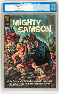 Mighty Samson #3 (Gold Key, 1965) CGC NM+ 9.6 Off-white pages