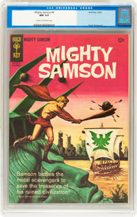 Mighty Samson #4 (Gold Key, 1965) CGC NM 9.4 Cream to off-white pages