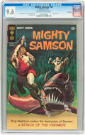 Silver Age (1956-1969):Adventure, Mighty Samson #20 File Copy (Gold Key, 1969) CGC NM+ 9.6 Off-white to white pages....