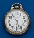 Timepieces:Pocket (post 1900), Illinois, 23 Jewels, Stiff Bow, Sangamo Special. ...