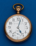 Timepieces:Pocket (post 1900), Burlington, 19 Jewels, 16 Size. ...