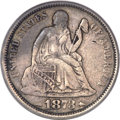 Seated Dimes, 1873 10C Arrows Doubled Die Obverse VF35 PCGS. Greer-101,Fortin-103, FS-2101....
