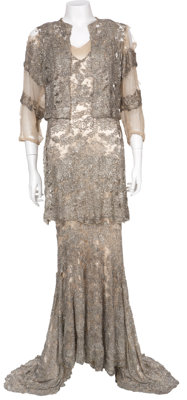 Mae West Beaded Gown Dress from Goin' to Town (1935)
