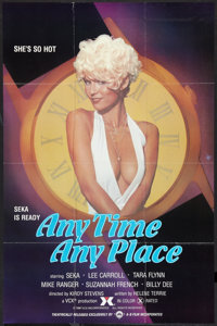 "Any Time, Any Place (A-B Film, 1981). Poster (23.5"" X 36""). Adult"
