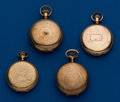 Timepieces:Pocket (post 1900), Four American Gold Filled Hunters Cases, 2 - 18 Size, 2 - 16 Size.... (Total: 4 Items)