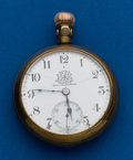 Timepieces:Pocket (post 1900), Ball, B of LE Official Standard, Rare, 21 Jewels, 18 Size. ...