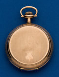 Timepieces:Pocket (post 1900), South Bend, 16 Size, Hunters Case. ...