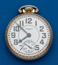 Timepieces:Pocket (post 1900), Waltham, 21 Jewels, 16 Size, Riverside. ...