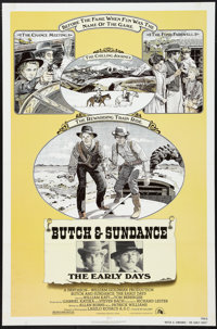 """Butch and Sundance: The Early Days Lot (20th Century Fox, 1979). One Sheets (2) (27"""" X 41""""). Western. ... (Tot..."""