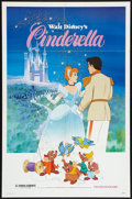 "Movie Posters:Animated, Cinderella (Buena Vista, R-1981). One Sheet (27"" X 41""). Animated....."