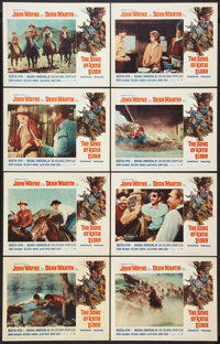 """The Sons of Katie Elder (Paramount, 1965). Lobby Card Set of 8 (11"""" X 14""""). Western. ... (Total: 8 Items)"""