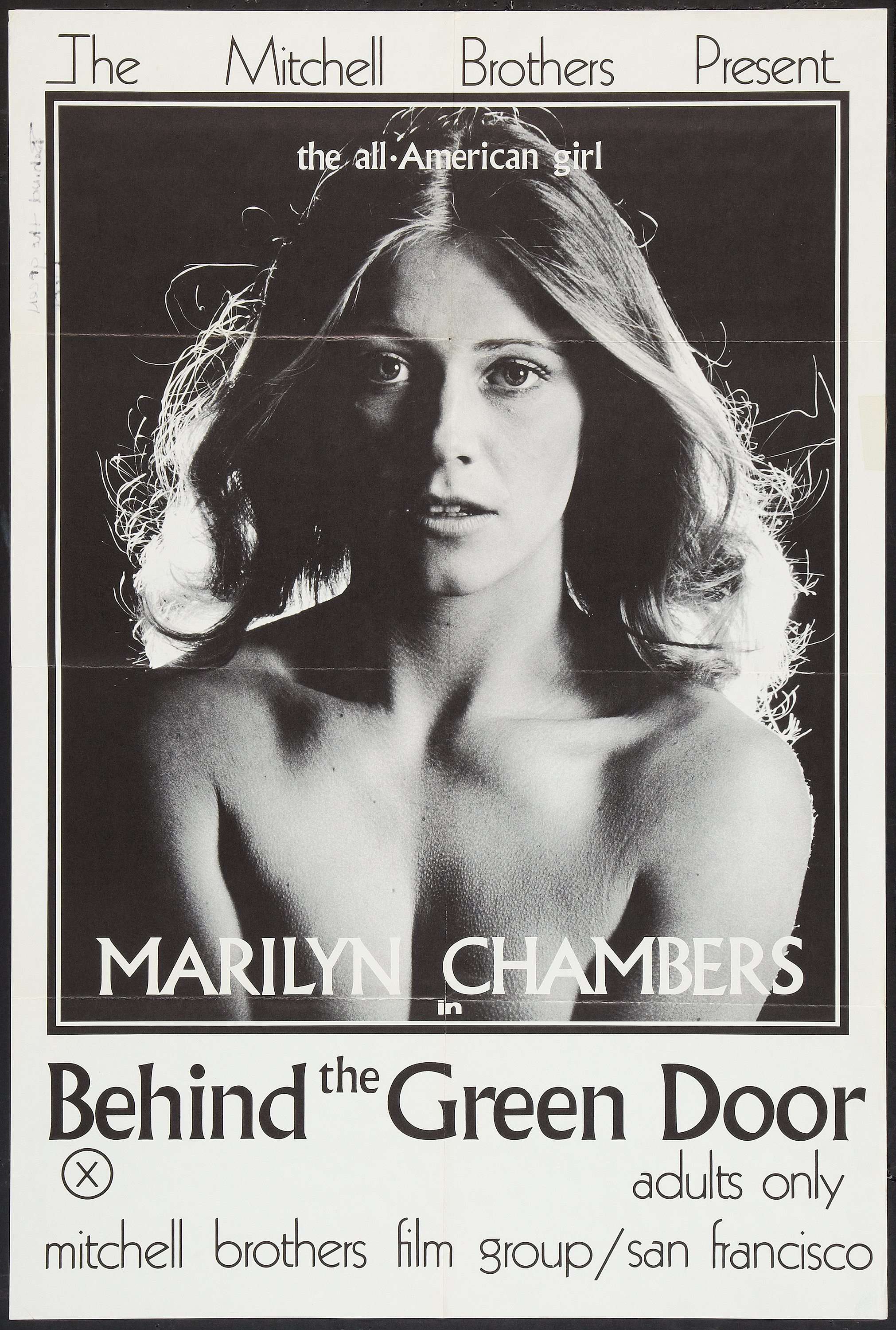 Behind The Green Door Pics behind the green door (mitchell brothers, 1972). poster (24