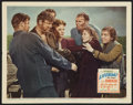 """Movie Posters:Hitchcock, Lifeboat (20th Century Fox, 1943). Lobby Card (11"""" X 14"""").Hitchcock.. ..."""