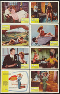"Movie Posters:Drama, And God Created Woman (Kingsley International, 1957). Lobby CardSet of 8 (11"" X 14""). Drama.. ... (Total: 8 Items)"