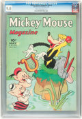 Golden Age (1938-1955):Cartoon Character, Mickey Mouse Magazine V4#8 (K. K. Publications/ Western PublishingCo., 1939) CGC VF/NM 9.0 Cream to off-white pages....