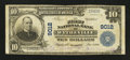 National Bank Notes:Virginia, Wytheville, VA - $10 1902 Plain Back Fr. 626 The First NB Ch. #9012. ...