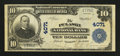 National Bank Notes:Virginia, Pulaski, VA - $10 1902 Plain Back Fr. 626 The Pulaski NB Ch. #4071. ...