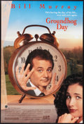 """Movie Posters:Comedy, Groundhog Day (Columbia, 1993). One Sheet (27"""" X 40"""") SS. Comedy.. ..."""