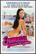 """Movie Posters:Adult, Emanuelle Around the World (Jerry Gross, 1980). One Sheet (27"""" X 41""""). Adult.. ..."""