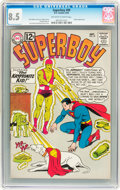 Silver Age (1956-1969):Superhero, Superboy #99 (DC, 1962) CGC VF+ 8.5 Off-white to white pages....