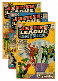 Justice League of America Group (DC, 1961-62).... (Total: 6 Comic Books)