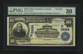 National Bank Notes:Vermont, White River Junction, VT - $10 1902 Date Back Fr. 619 The First NB Ch. # (N)3484. ...