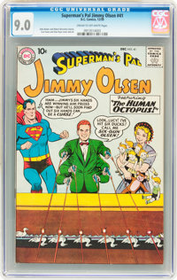Superman's Pal Jimmy Olsen #41 (DC, 1959) CGC VF/NM 9.0 Cream to off-white pages