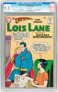 Silver Age (1956-1969):Superhero, Superman's Girlfriend Lois Lane #20 (DC, 1960) CGC NM- 9.2 White pages....