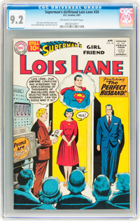 Superman's Girlfriend Lois Lane #24 (DC, 1961) CGC NM- 9.2 Off-white to white pages