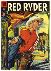 Red Ryder Comics #142 Mile High pedigree (Dell, 1955) Condition: NM-