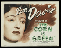 """The Corn Is Green (Warner Brothers, 1945). Title Lobby Card (11"""" X 14""""). Drama"""