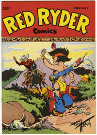 Red Ryder Comics #55 Mile High pedigree (Dell, 1948) Condition: NM